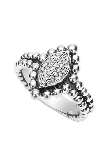 Mariage - LAGOS Caviar Spark Diamond Marquise Ring