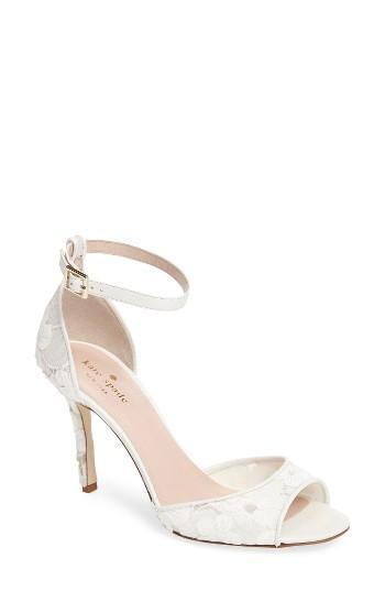 Mariage - Kate Spade New York Ideline Floral Lace Sandal