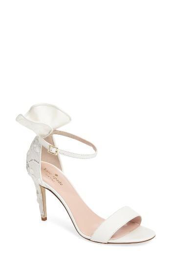 زفاف - Kate Spade New York Iris Ruffle Sandal