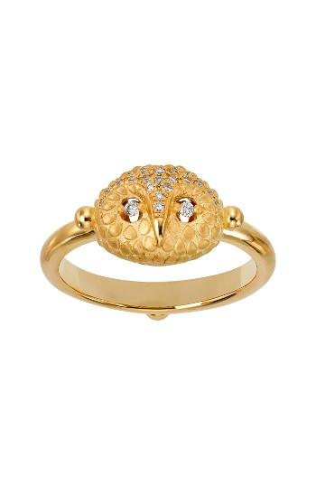 Mariage - Temple St. Clair Diamond Owl Ring