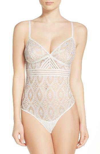 Mariage - ELSE Lace Thong Bodysuit