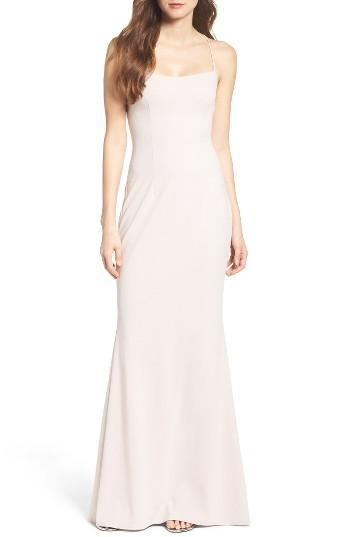 Wedding - Katie May Jean Stretch Crepe Gown