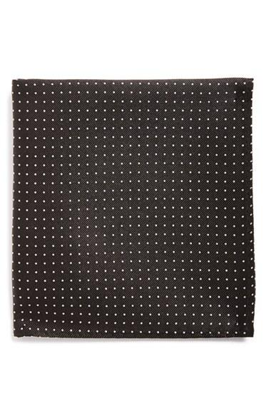 Boda - The Tie Bar Mini Dots Silk Pocket Square