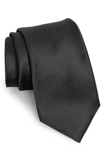 Свадьба - Nordstrom Men's Shop Solid Satin Silk Tie