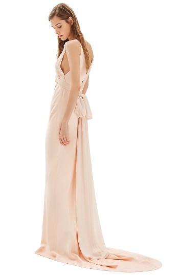 زفاف - Topshop Bride Floral Appliqué Sheath Gown