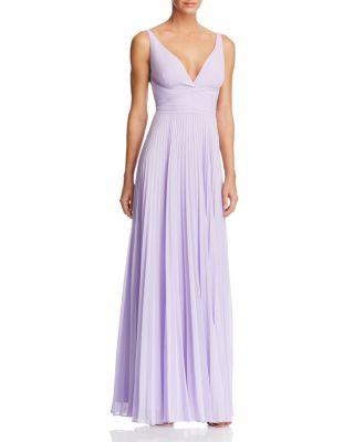 Boda - Laundry by Shelli Segal Pleated Gown - 100% Exclusive