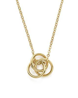 """Свадьба - Bloomingdale's 14K Yellow Gold Love Knot Necklace, 18"""" - 100% Exclusive"""