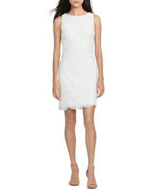 Свадьба - Lauren Ralph Lauren Petites Lace Sheath Dress