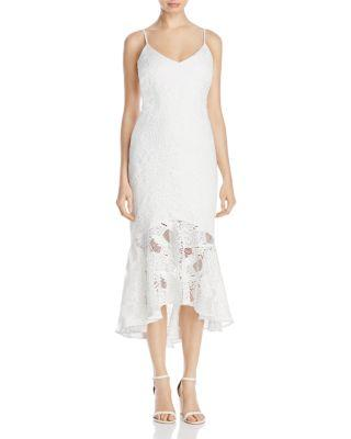 Mariage - Laundry by Shelli Segal Lace Mermaid Slip Dress