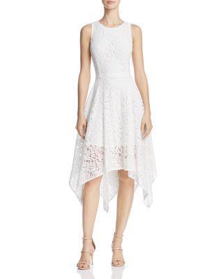 Mariage - nanette Nanette Lepore Handkerchief-Hem Lace Dress