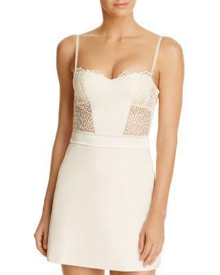 Hochzeit - La Perla Macrame Tale Dress
