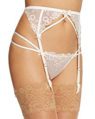 زفاف - L'Agent by Agent Provocateur Lusina Suspender Belt