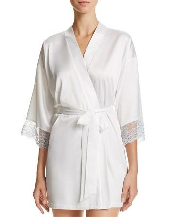 Свадьба - In Bloom by Jonquil The Mrs. Wrap Robe & Chemise