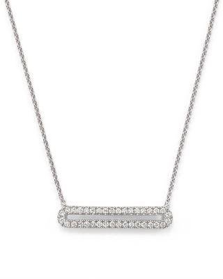 "Mariage - Dana Rebecca Designs 14K White Gold Isabelle Brooke Necklace, 16"""