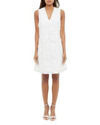 Düğün - Ted Baker Floral Appliqué Lace Dress