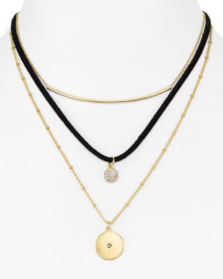 "Mariage - AQUA Justine Layered Necklace, 14"" - 100% Exclusive"