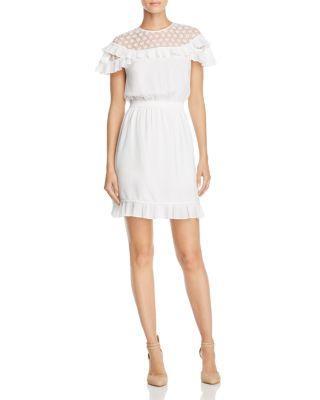 Wedding - Sandro Firenze Lace-Inset Dress