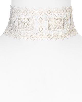 """زفاف - Vanessa Mooney Dolly Choker Necklace, 11"""""""