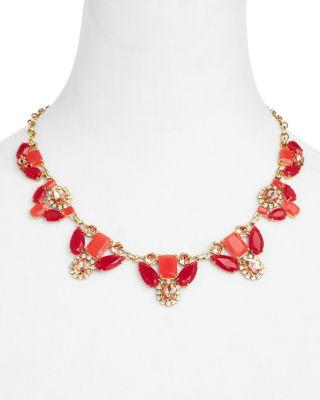"Wedding - kate spade new york Embellished Statement Necklace, 18"" - 100% Exclusive"