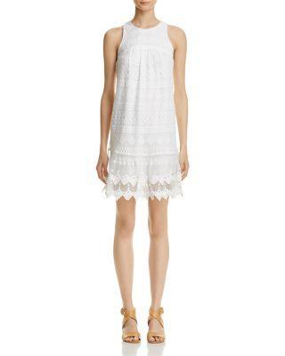 Свадьба - AQUA Sleeveless Geometric-Lace Dress - 100% Exclusive