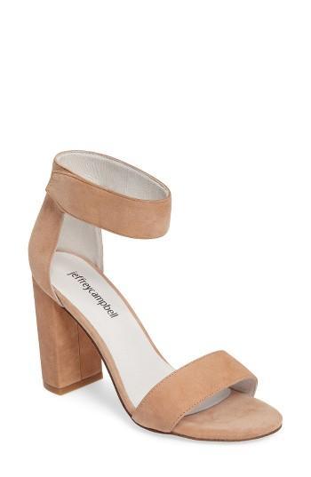 Hochzeit - Jeffrey Campbell 'Lindsay' Ankle Strap Sandal (Women)