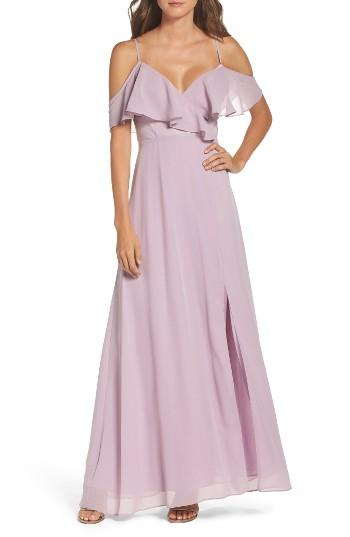 Wedding - True Decadence by Glamorous Cold Shoulder Maxi Dress