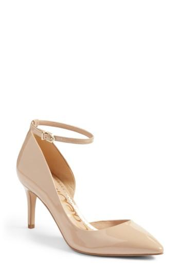 725077b25 Sam Edelman Tia Ankle Strap Pump (Women)  2750930 - Weddbook
