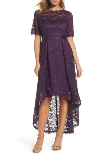 Wedding - Adrianna Papell High/Low Lace Dress