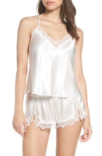 Wedding - In Bloom by Jonquil Satin Short Pajamas (Nordstrom Exclusive)