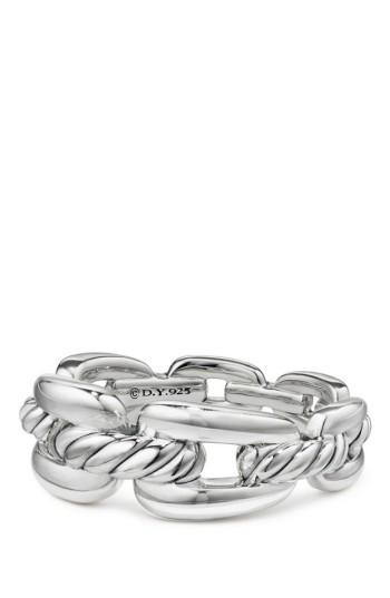زفاف - David Yurman Stax Chain Link Ring with Diamonds