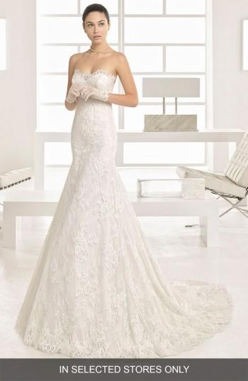 cc16024a9f4 Two By Rosa Clara Ofrenda Strapless Lace Gown  2774692 - Weddbook