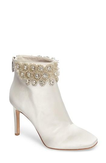 Свадьба - Imagine Vince Camuto Lura Crystal Flower Bootie