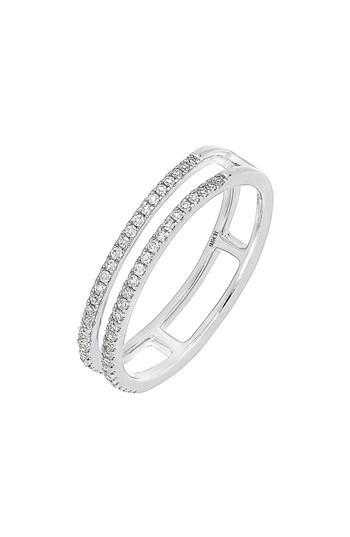 Свадьба - Carrière Double Row Diamond Stack Ring (Nordstrom Exclusive)