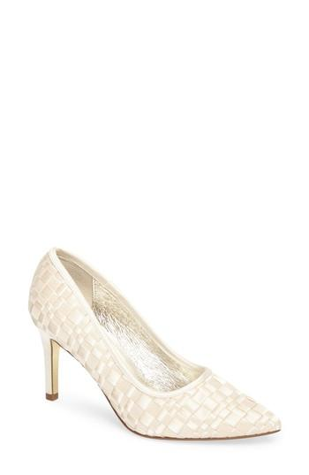 Wedding - Adrianna Papell Hasting Pointy Toe Pump (Women)
