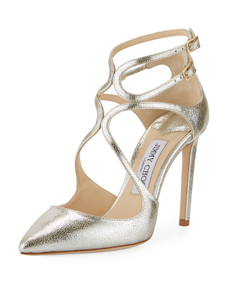 Hochzeit - Lancer Metallic Leather Pump