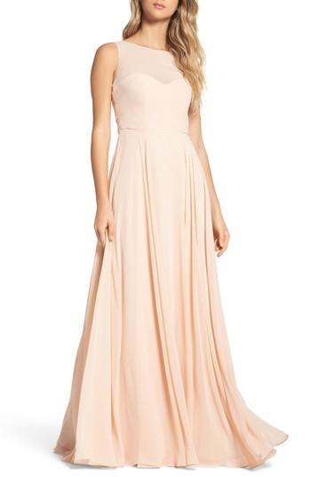 1d02a9c03c3 Bridesmaid - Jenny Yoo Elizabeth Chiffon Gown  2800085 - Weddbook