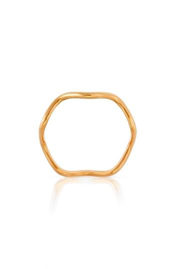 Mariage - Sabine Getty Baby Memphis Wave Band Ring