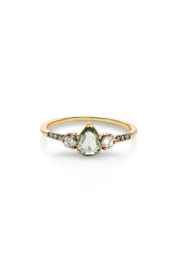 Wedding - MANIAMANIA Radiance Sapphire & Diamond Ring