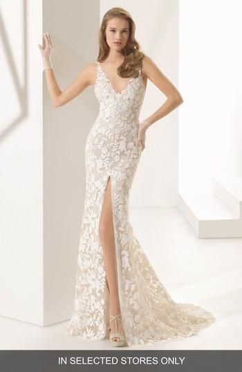 Mariage - Rosa Clará Couture Panal Guipure Lace Mermaid Gown