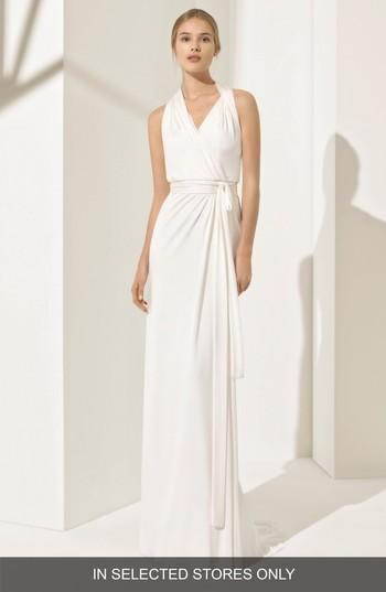 Mariage - Rosa Clará Couture Pamela Silk Knit Column Gown