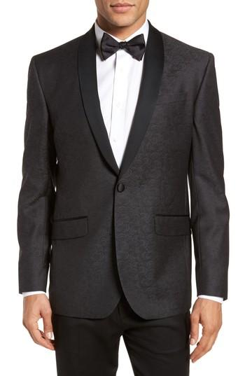Hochzeit - Ted Baker London Josh Trim Fit Wool Dinner Jacket