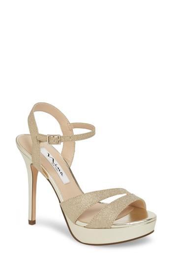 Hochzeit - Nina Silana Platform Sandal (Women)