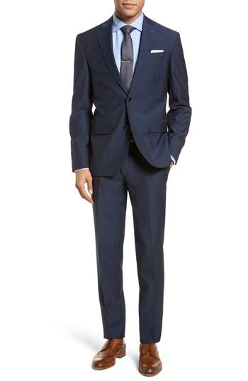 Свадьба - Ted Baker London Roger Slim Fit Dot Wool Suit