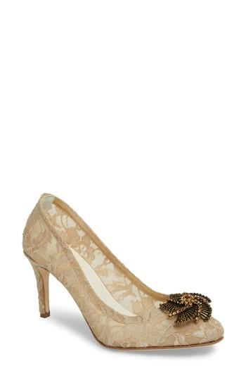 Hochzeit - Something Bleu Valerie Embellished Pump (Women)