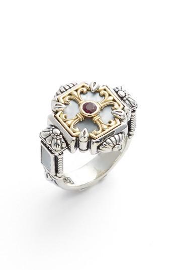 Wedding - Konstantino Sterling Silver & Ruby Ring