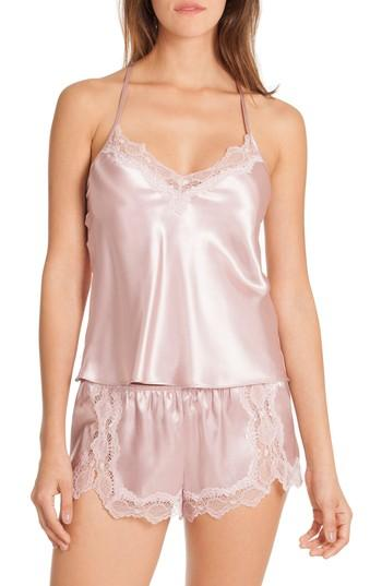 587b026a0e3 In Bloom By Jonquil Satin Short Pajamas (Nordstrom Exclusive ...