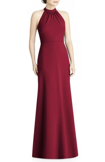 Wedding - JY Jenny Yoo Crepe Halter Gown