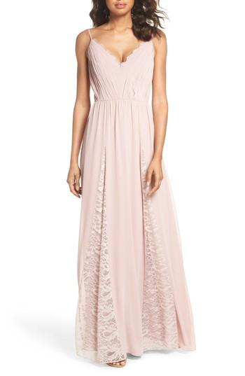 Wedding - Hayley Paige Occasions Lace & Chiffon Gown