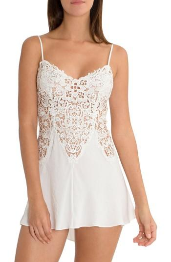 Hochzeit - In Bloom by Jonquil Lace & Satin Chemise