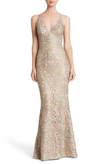 Mariage - Dress the Population Karen Mermaid Gown